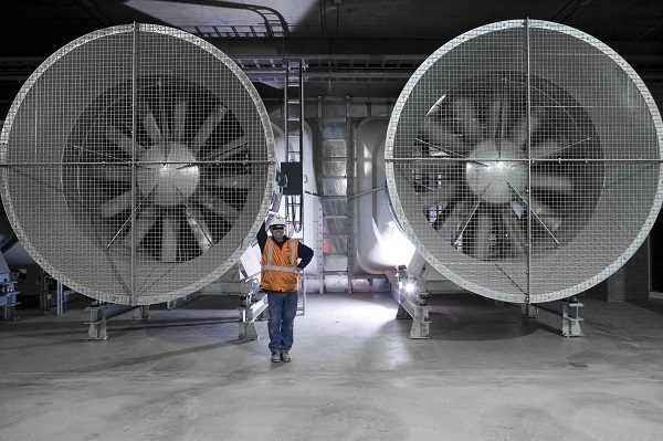 EastLink Tunnel ventilation fans w person 600w